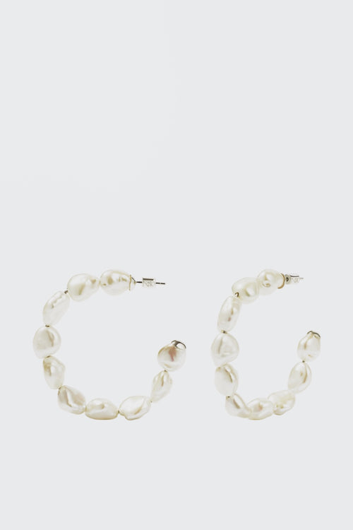 Meadowlark Romeo Hoop Earrings - silver - Good As Gold