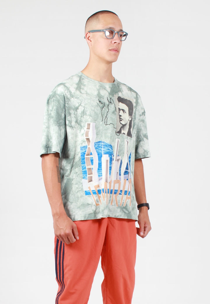 Perks and Mini Future Plans Oversized T-Shirt - tie dye blue — Good as Gold