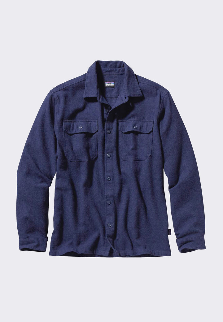 Fjord Flannel Shirt - navy