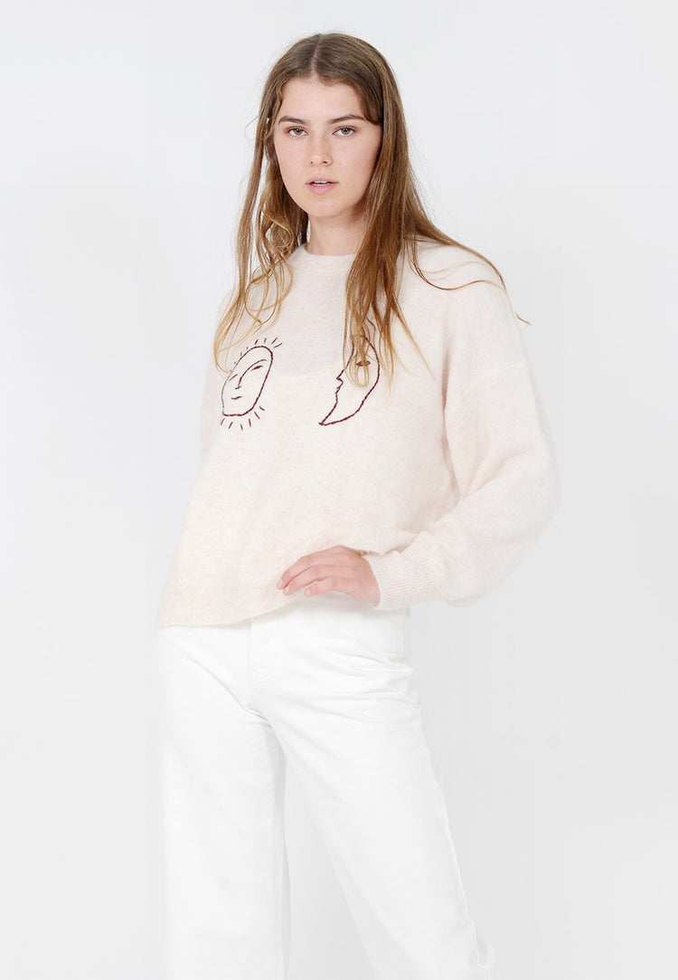 Paloma Wool Cosmos Knit Sweater - ecru — Good as Gold