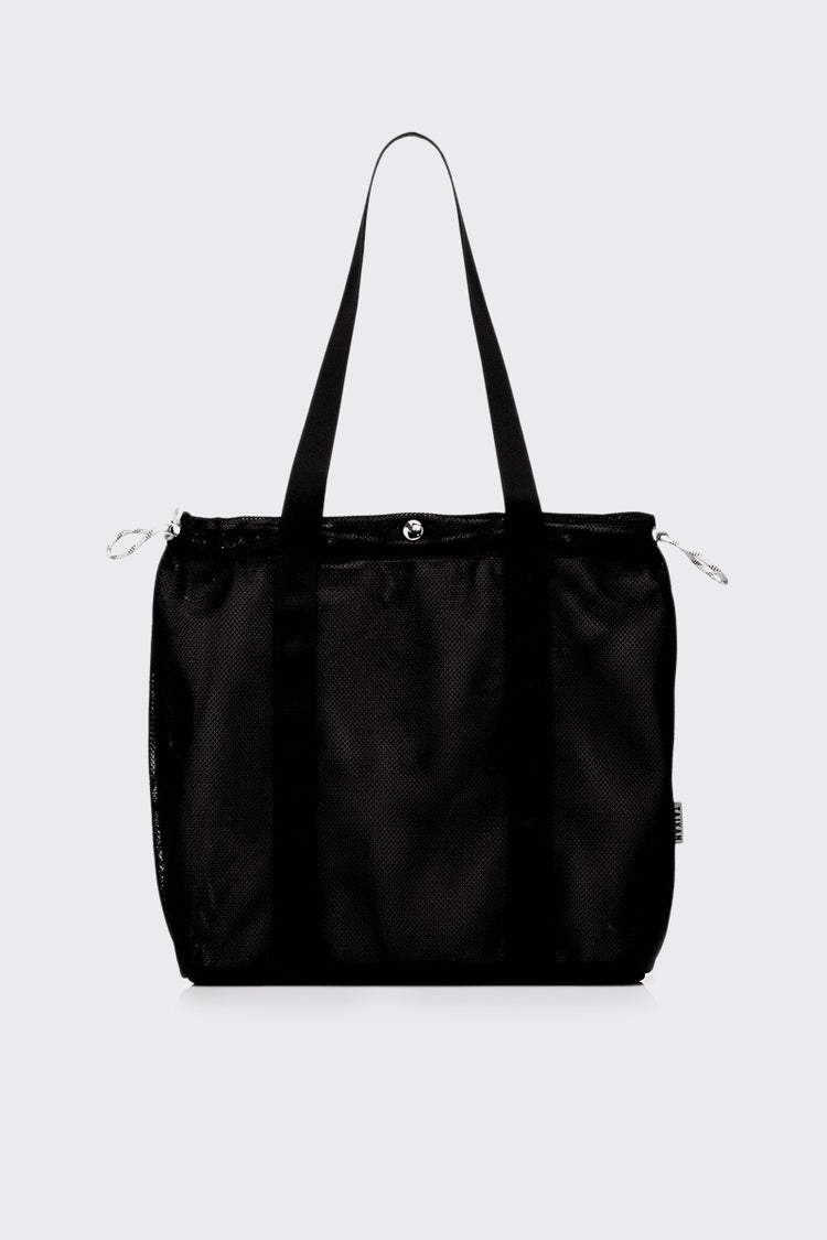 Taikan Everything Flanker Tote Bag - black mesh | GOOD AS GOLD | NZ