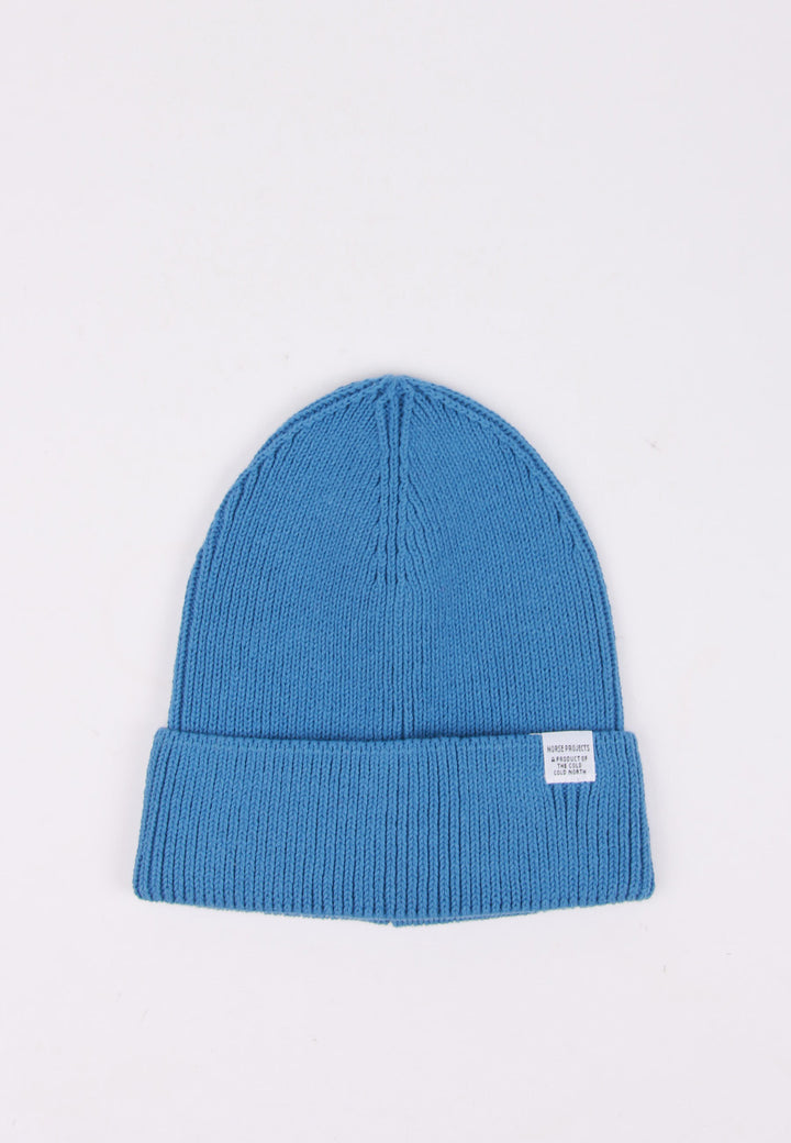 Norse Projects Cotton Watch Beanie - cali blue | GOOD AS GOLD | NZ