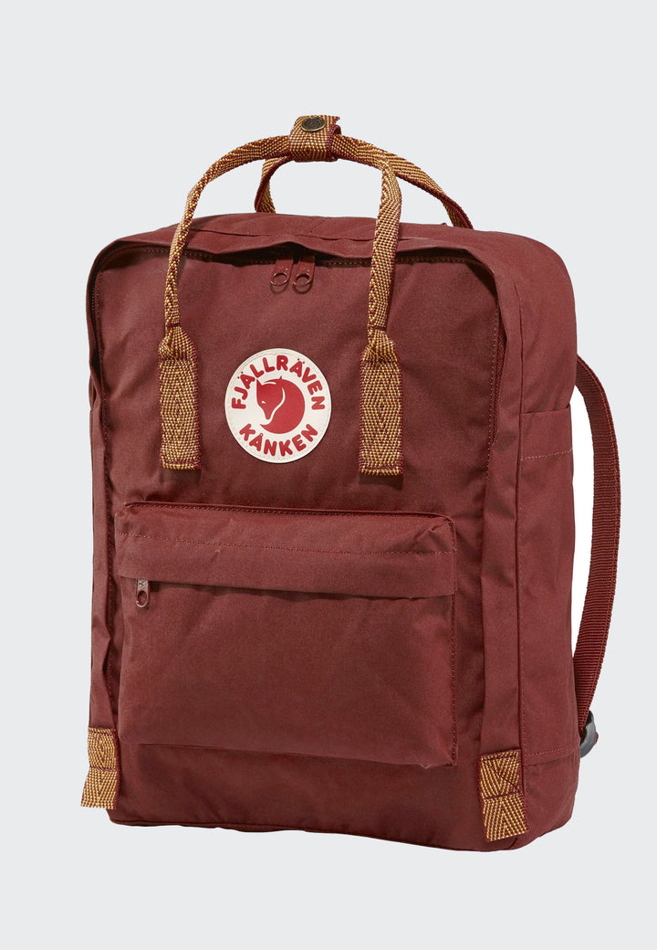 Kanken Backpack - ox red/goose eye