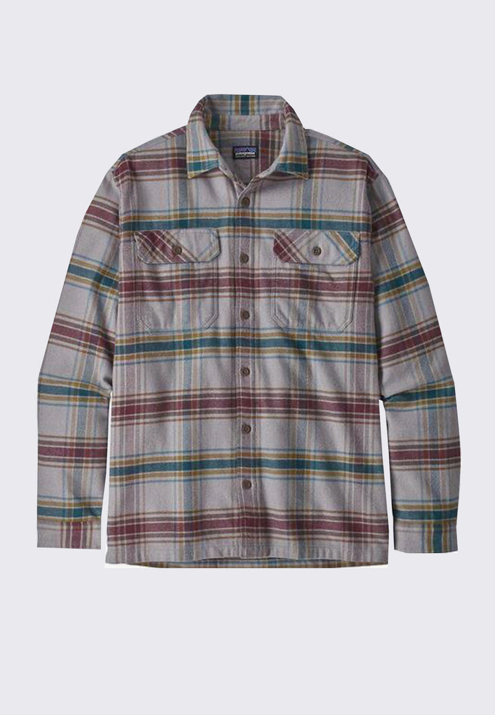 Fjord Flannel Shirt - feather grey