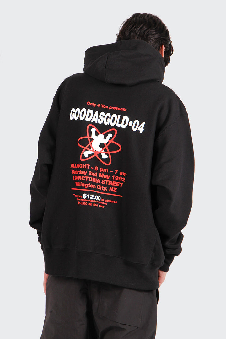 Good As Gold Hardcore Hoodie - black | GOOD AS GOLD | NZ