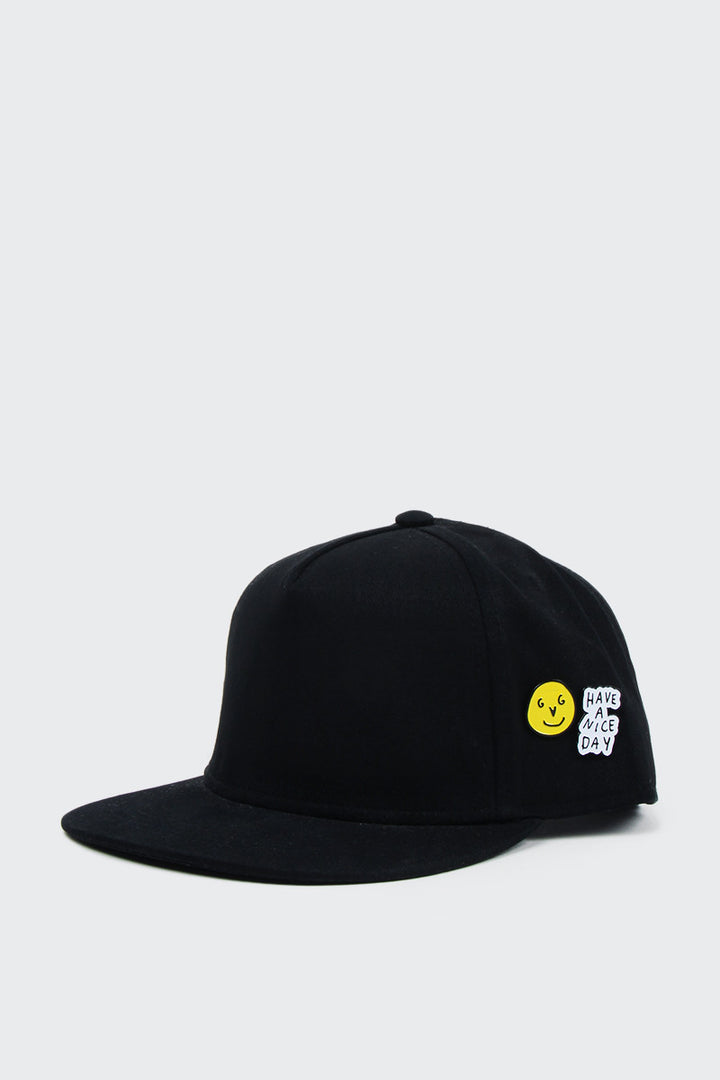 Good As Gold Have A Nice Day Snapback - black | GOOD AS GOLD | NZ