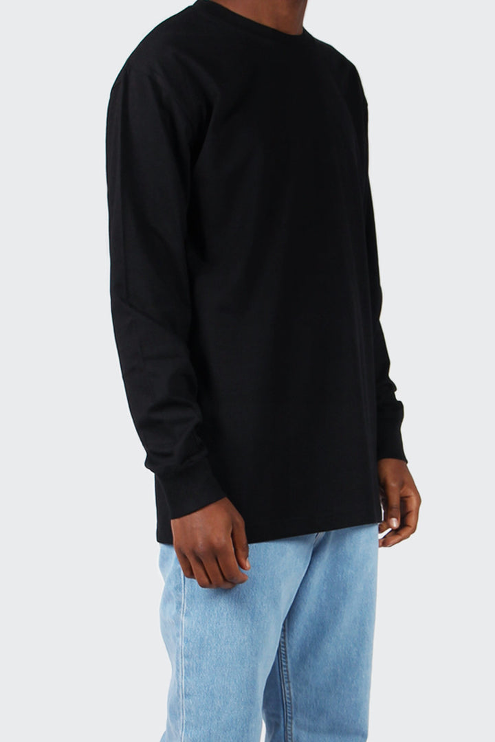 Classic Organic Long Sleeve T-Shirt - black