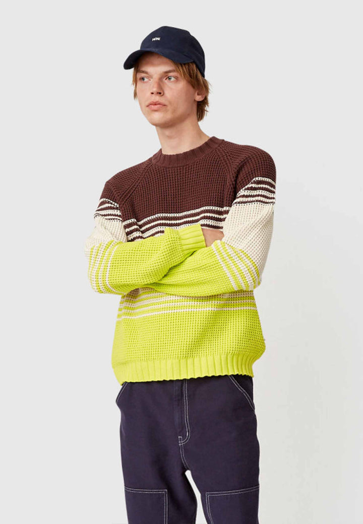 Gunther Sweater - multi stripes