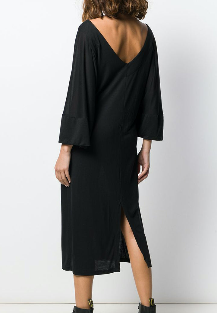 Hang On Jersey Dress - black