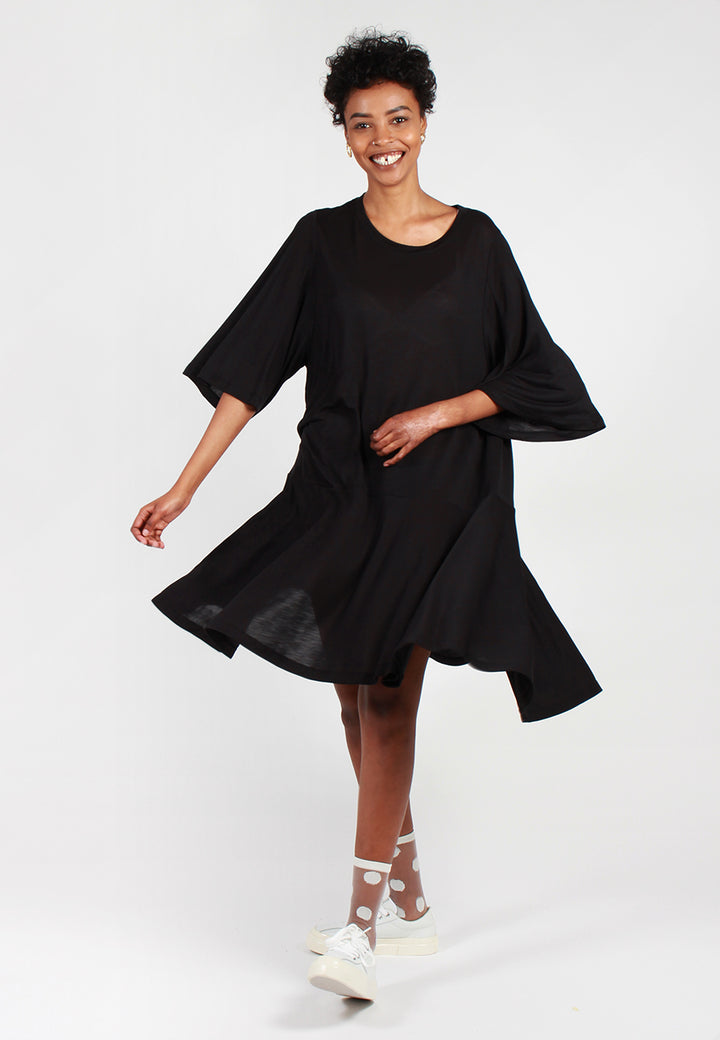 Henrik Vibskov Stream Jersey Dress - black - Good As Gold