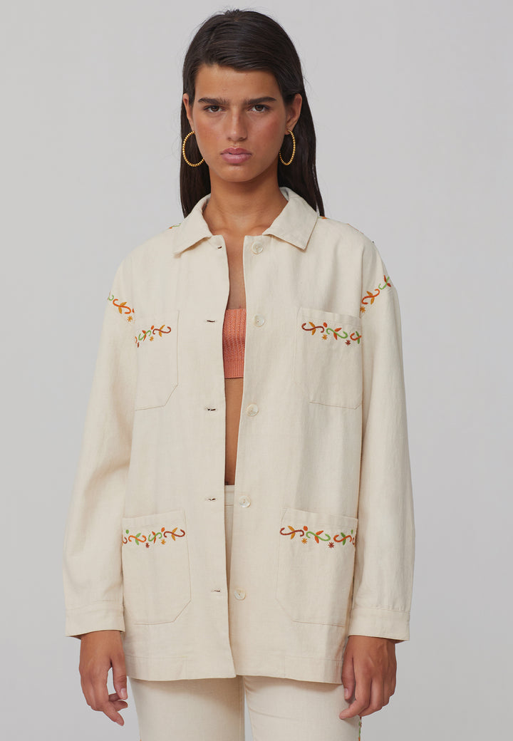 Holly Jacket - off white