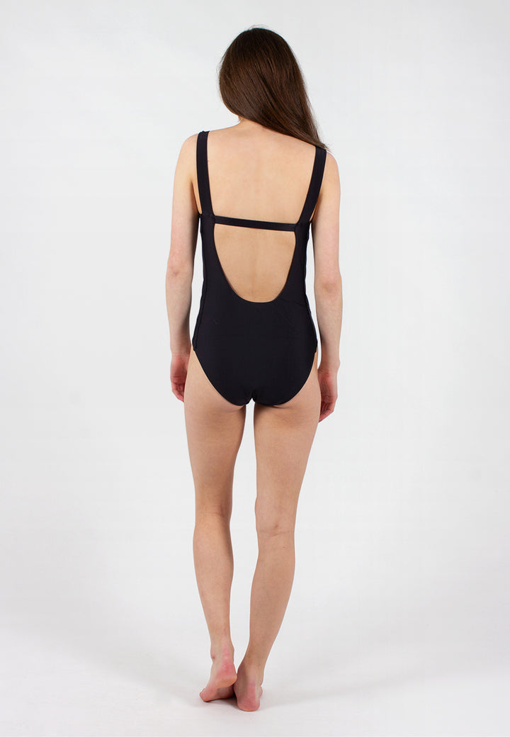 Swim Lines One Piece - black