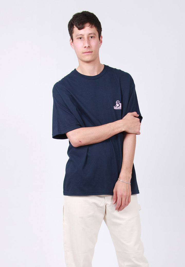 Jungles Sphinx Logo T-Shirt - navy – Good as Gold