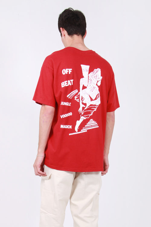 Jungles Voodoo Magic T-Shirt - red – Good as Gold