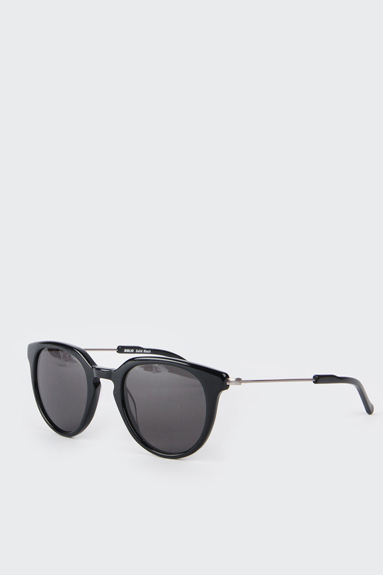 Kaibosh Biblio Sunglasses - solid black | GOOD AS GOLD | NZ