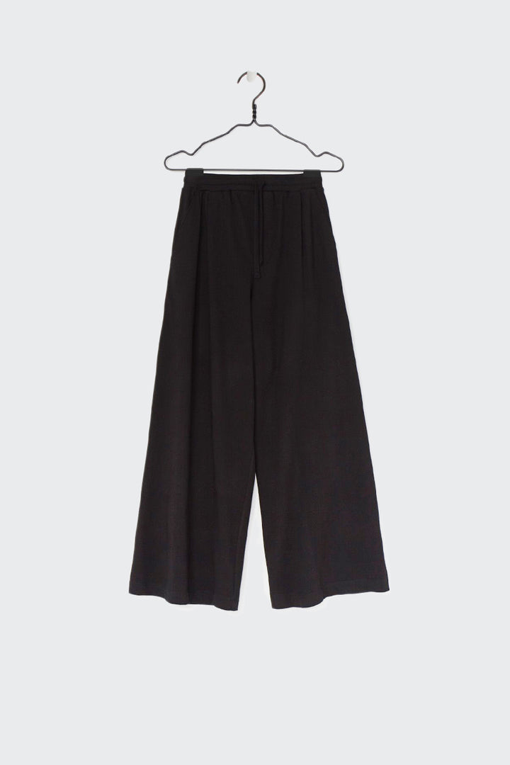 Kowtow Building Block Wide Leg Pant - black | GOOD AS GOLD | NZ