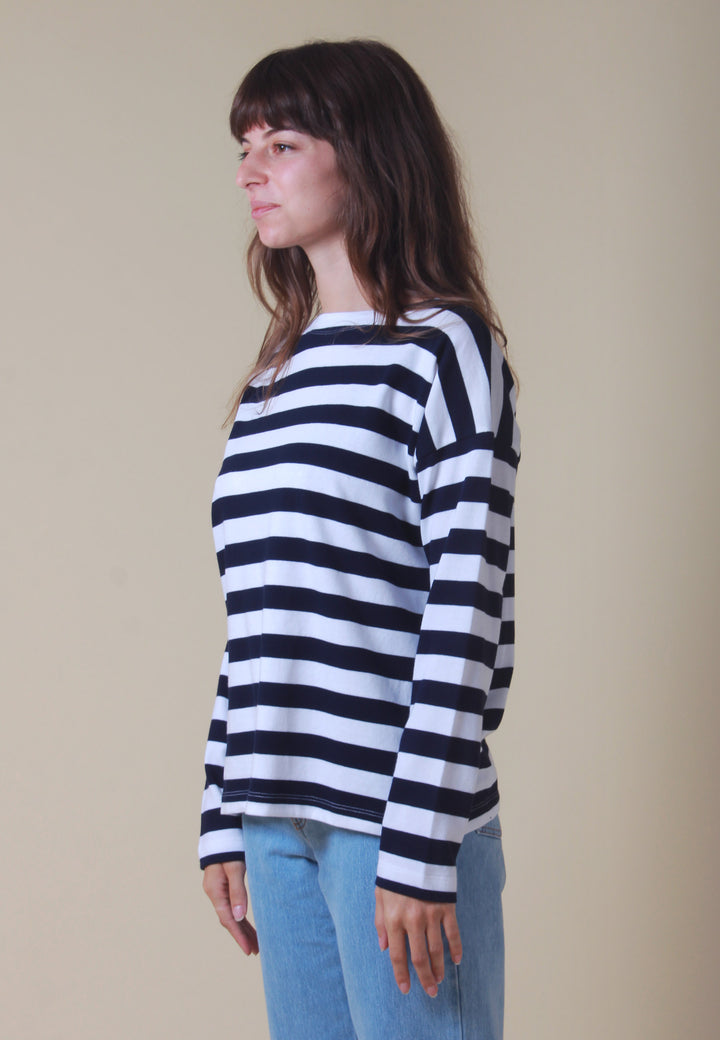 Building Block Breton Sweater - stripe