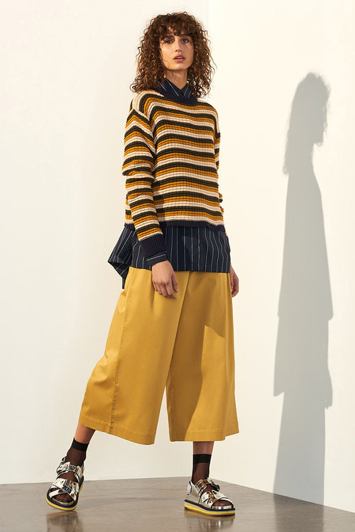 Kowtow Escape Crew - multi stripe | GOOD AS GOLD | NZ
