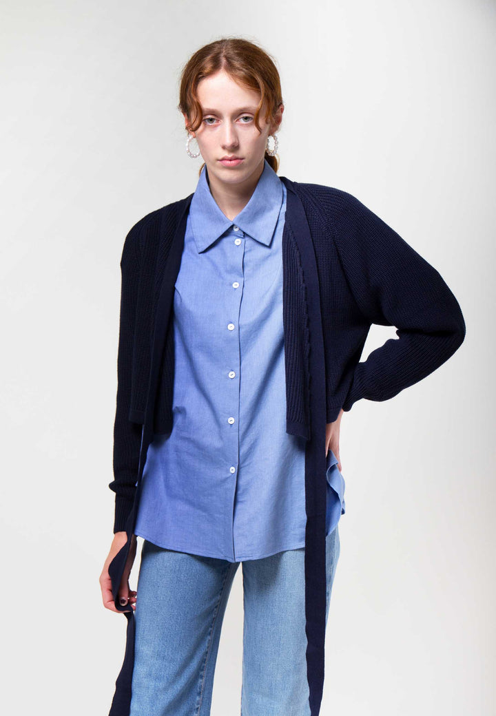 Composure Cardigan - navy