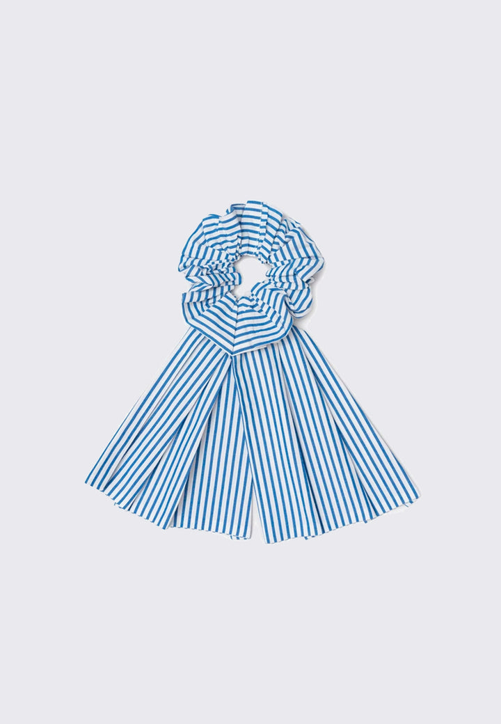 Bow Scrunchie - stripe
