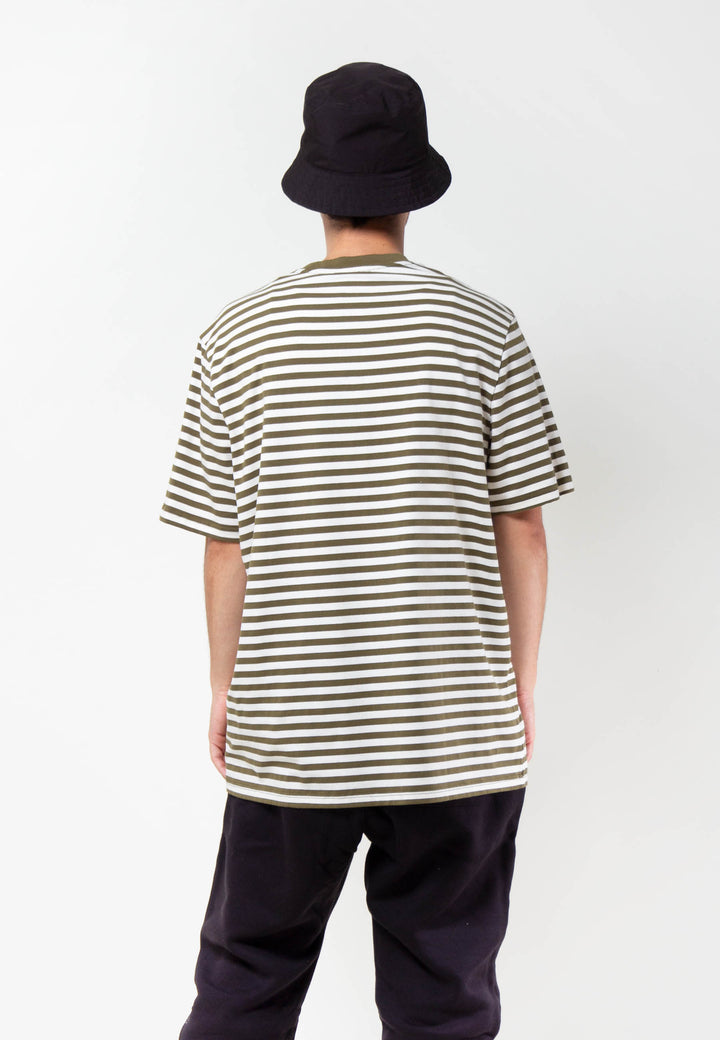 LO Stripy Boy T-Shirt - green