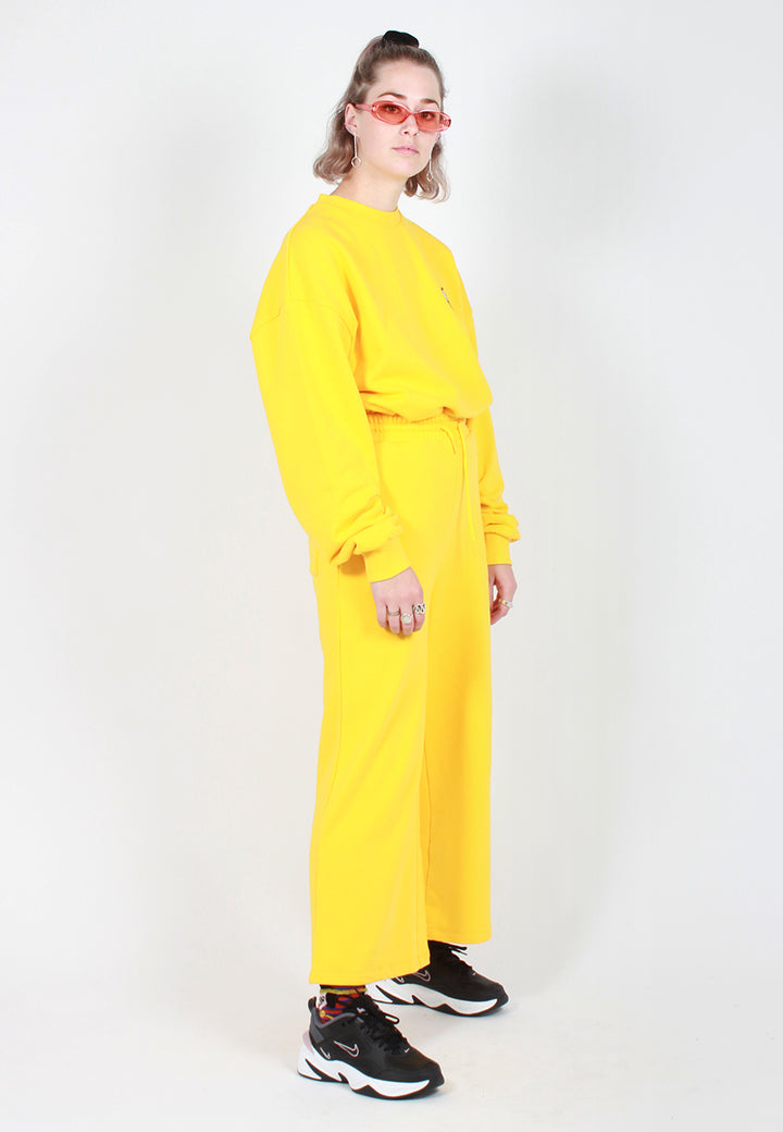 Lazy Oaf Banana Track Pant - yellow - Good As Gold