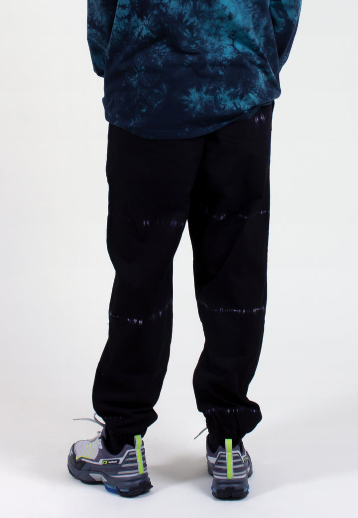 Level Up Tie Dye Pants - black