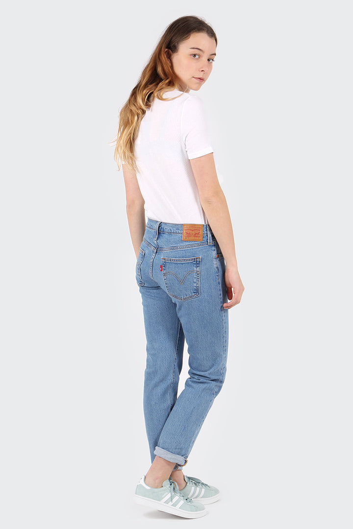 Levis Womens 501 Taper - amerika blue | GOOD AS GOLD | NZ