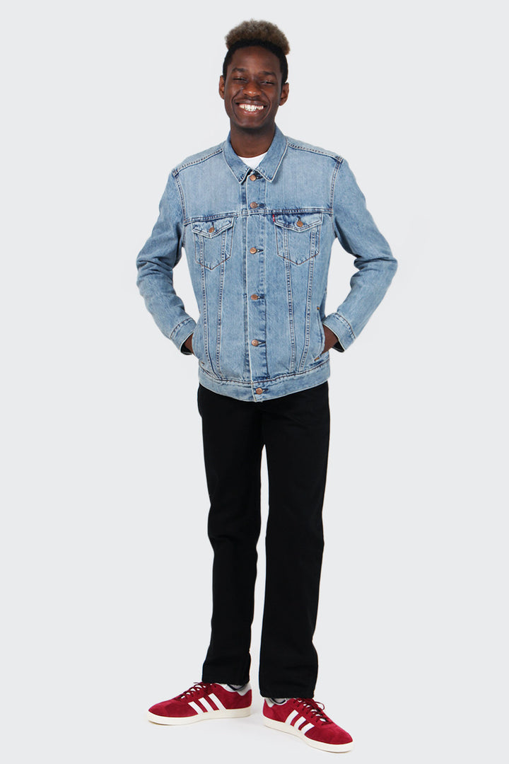 Levis Trucker Jacket - icy | GOOD AS GOLD | NZ