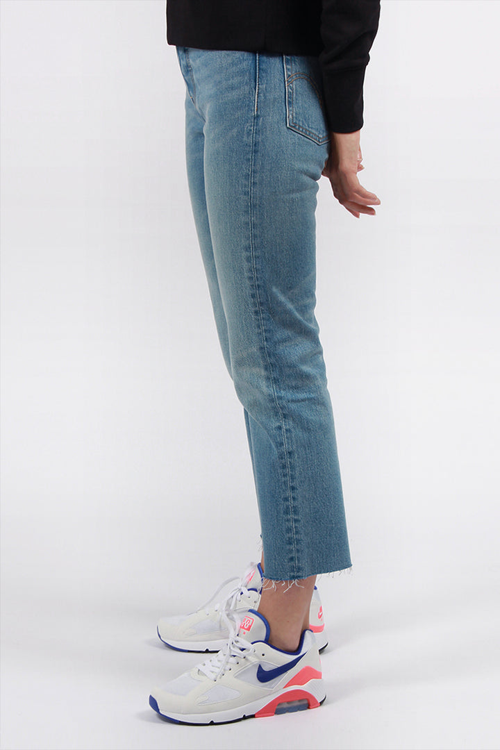 Levis Wedgie Straight Jeans - rough tide blue | GOOD AS GOLD | NZ