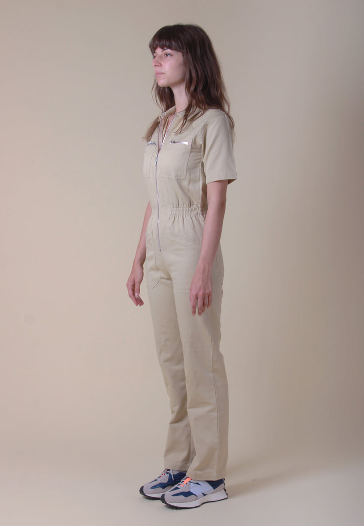 Danny Boilersuit - oatmeal