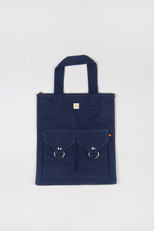 L.F Markey Super Shopper Bag - blue – Good as Gold