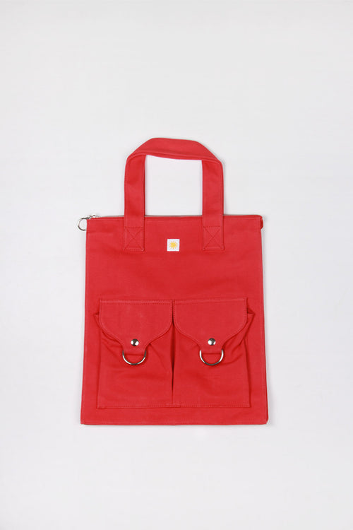 L.F Markey Super Shopper Bag - red – Good as Gold