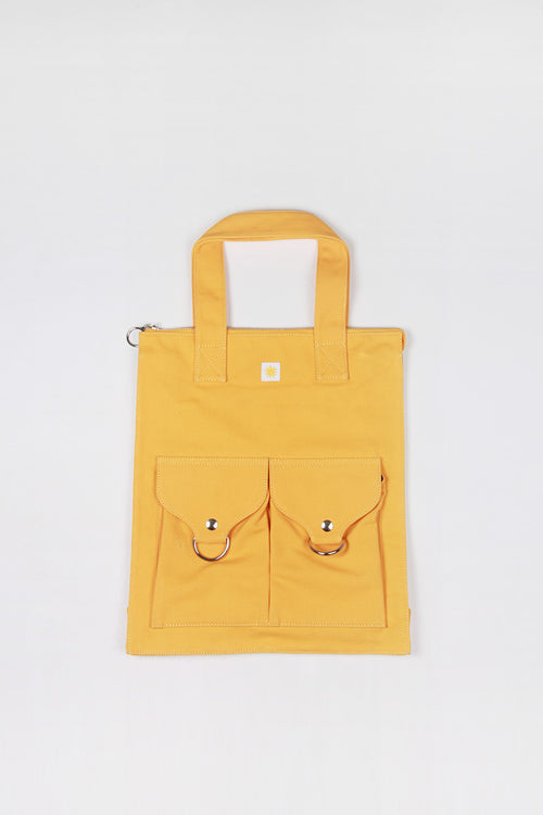L.F Markey Super Shopper Bag - yellow – Good as Gold
