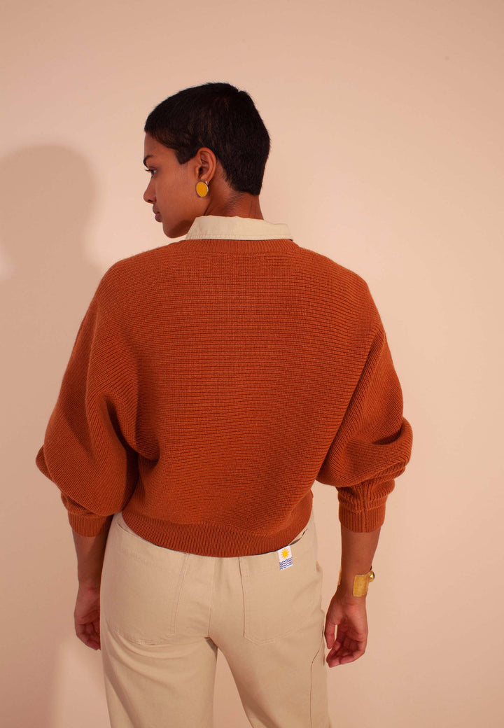 Verve Knit - terracotta