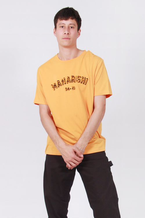 Maharishi Tiger Style T-Shirt - tron orange – Good as Gold