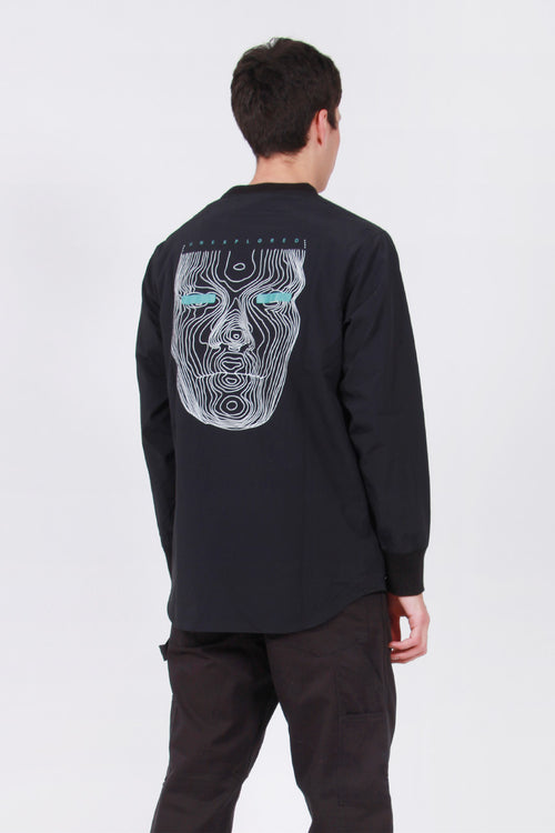 Maharishi Lucid Woven Track Top - black – Good as Gold