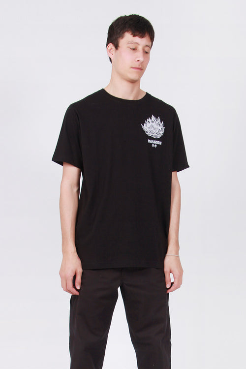 Maharishi Komainu T-Shirt - black – Good as Gold