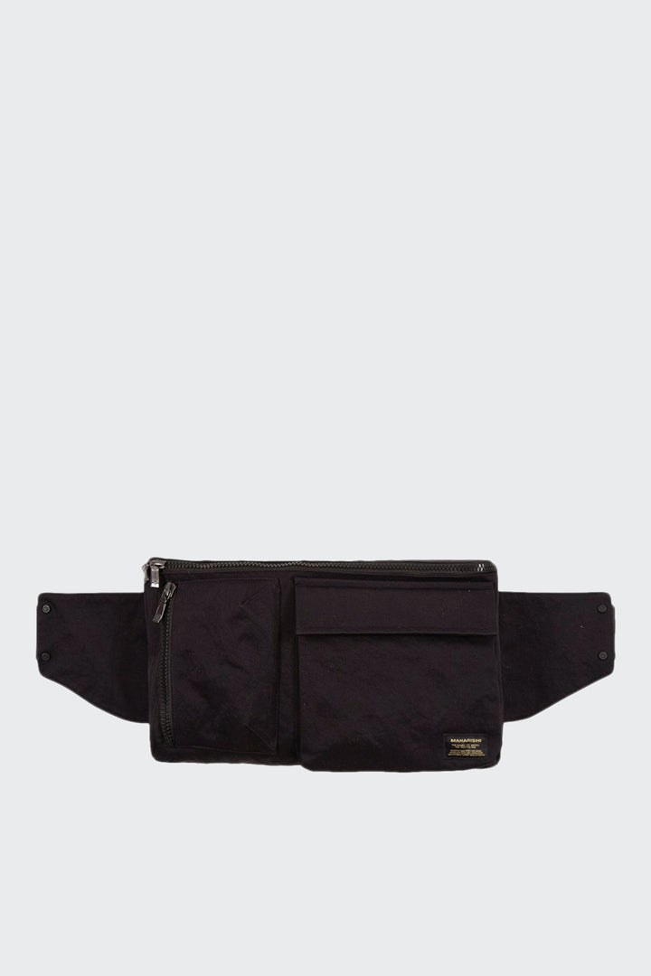 Maharishi Waist Bag - black | GOOD AS GOLD | NZ