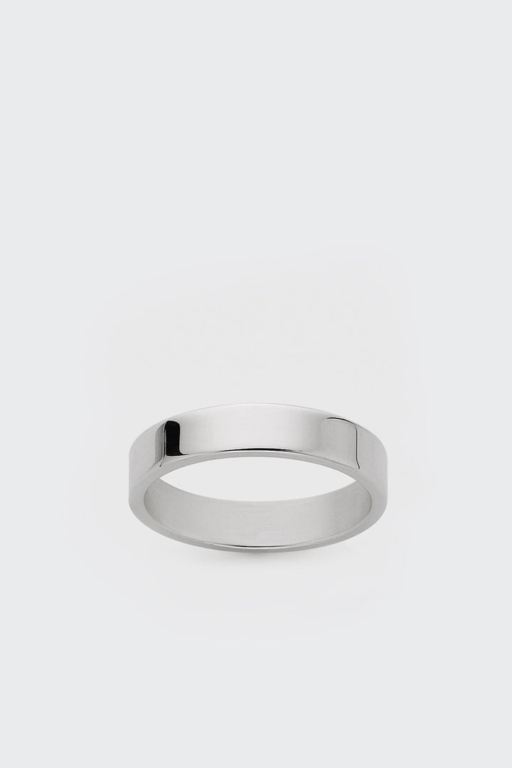 Meadowlark, 3MM Plain Band - silver | GOOD AS GOLD | NZ