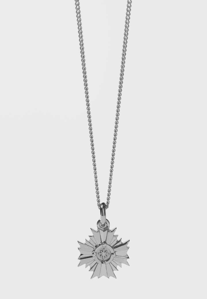 Meadowlark August Necklace - silver - Good As Gold