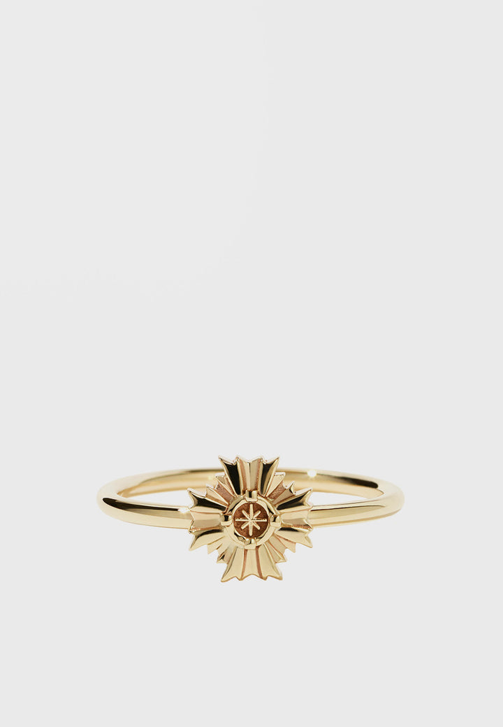 Meadowlark August Stacker Ring - gold - Good As Gold