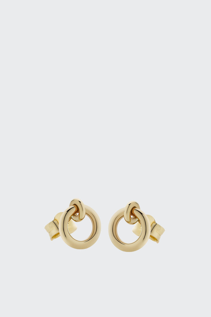 Meadowlark Halo Stud Earrings - gold plated | GOOD AS GOLD | NZ