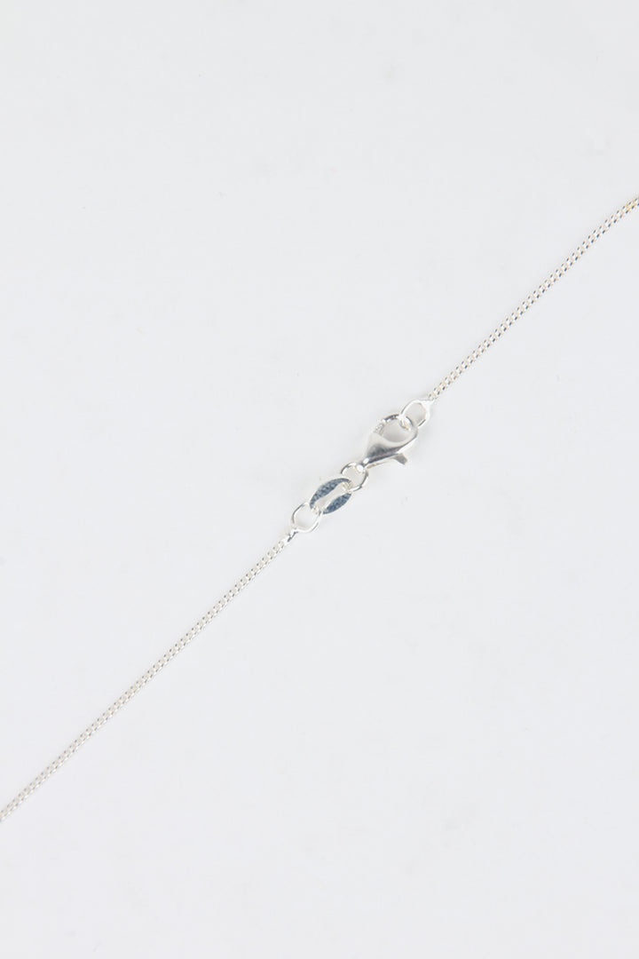 Meadowlark Lower Case Letter Necklace - silver h | GOOD AS GOLD | NZ