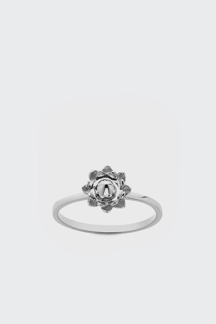 Meadowlark, Protea Stacker Ring - silver | GOOD AS GOLD | NZ