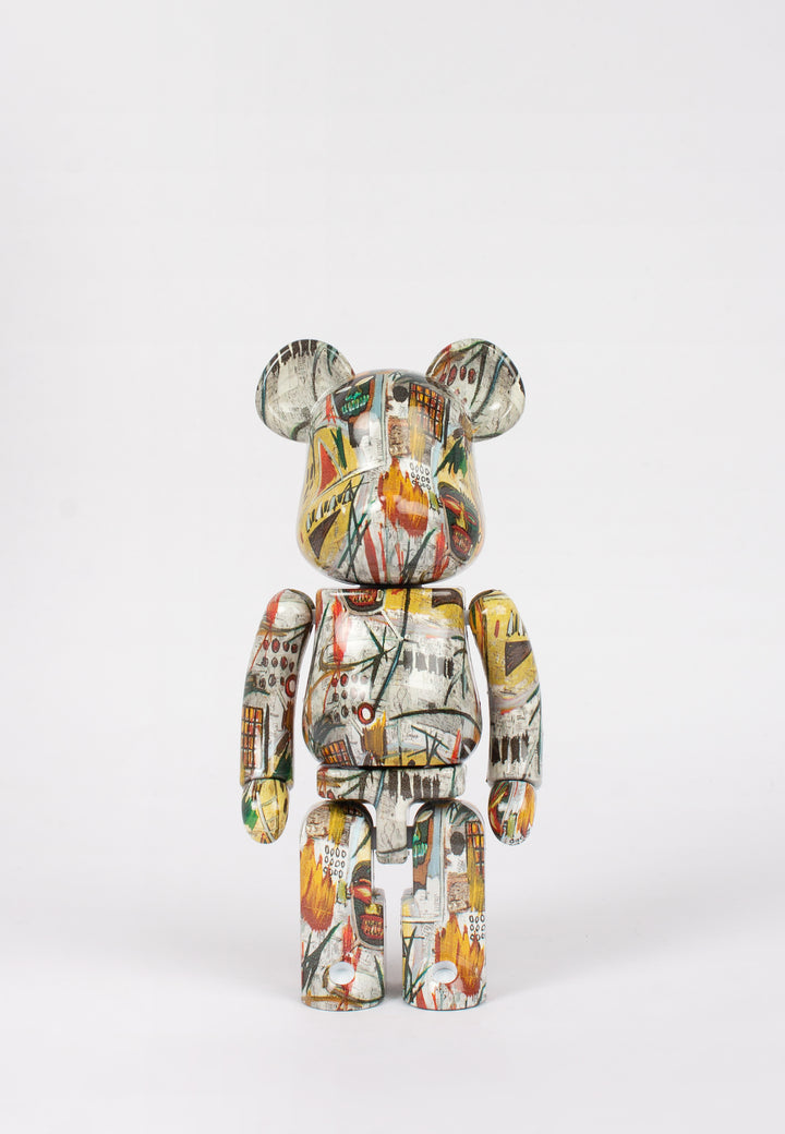 Medicom Toy | Be@rbrick X Jean Michel Basquiat - 200% Alloy figure | Good As Gold, NZ