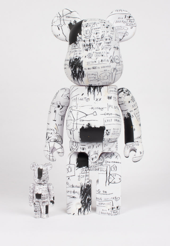 Medicom Toy | Be@rbrick X Basquiat V3 - 100% & 400% figures | Good As Gold, NZ