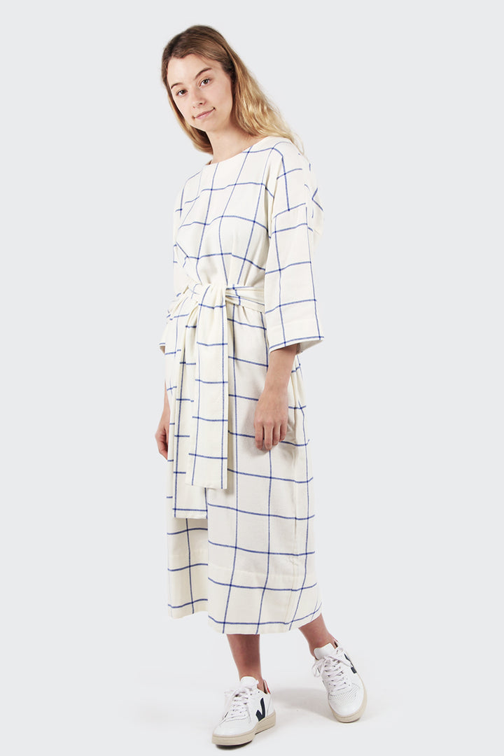 Mr. Larkin Maker Dress - windowpane | GOOD AS GOLD | NZ