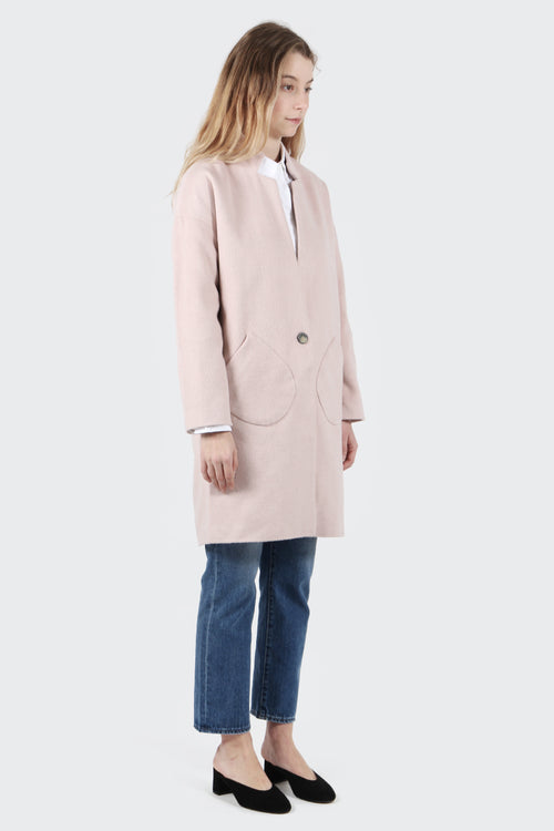 Native Youth Alba Coat - dusty pink | GOOD AS GOLD | NZ