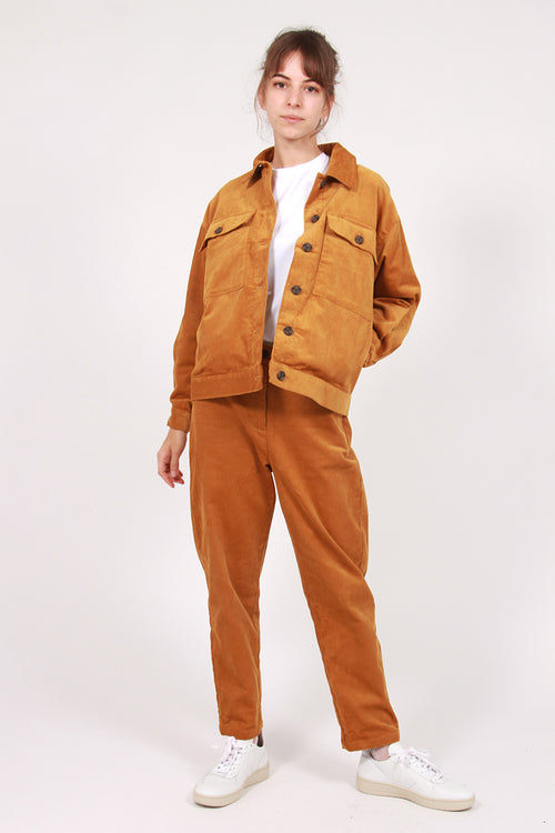 Manchester Cord Jacket - mustard